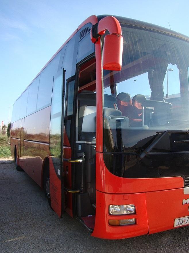 Man 50 sjedala autobus transfer Hrvatska