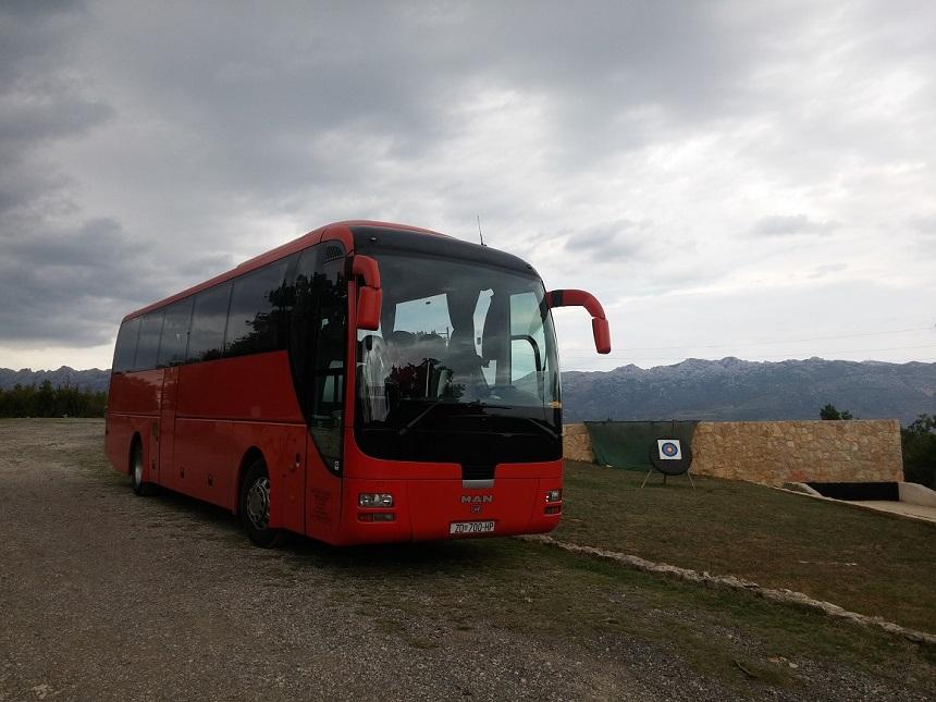Man 50 sjedala autobus transfer Zadar