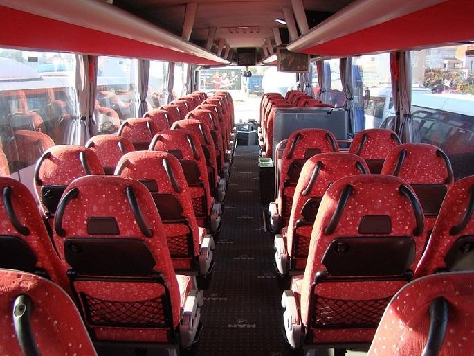 Man Bus transfer rent