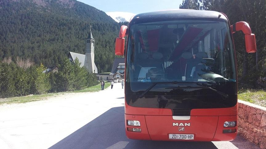 Man Bus transfer Croatia