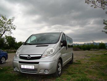 Minivan Taxi Croatia